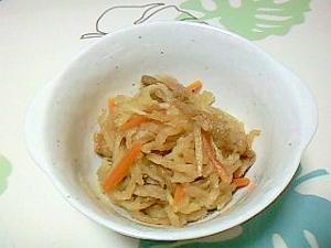 レンジで!切干大根の煮物++