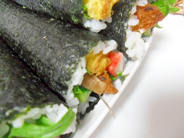 白身魚フライ入り 恵方巻き 巻き寿司