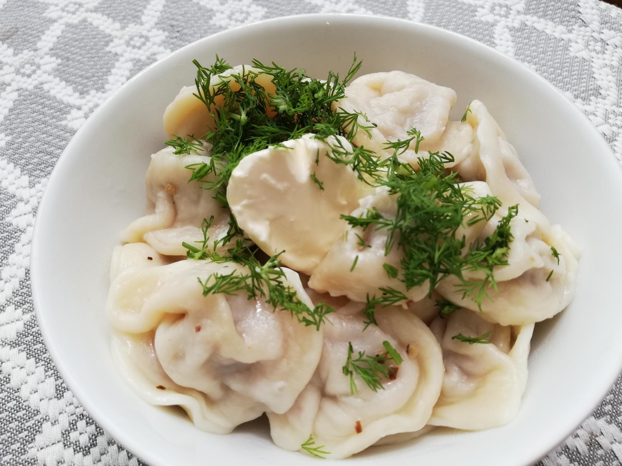 ペリメニ、ロシア風餃子