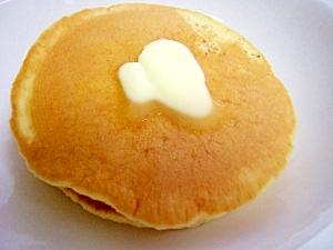 手作りホットケーキミックスで甘いホットケーキ^^