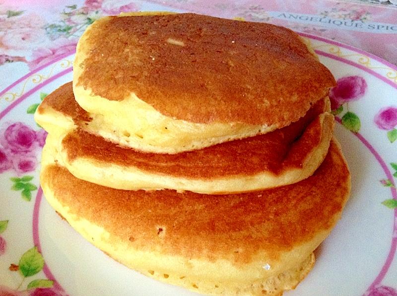 冷めてもフワフワ~大豆粉でヘルシーパンケーキ