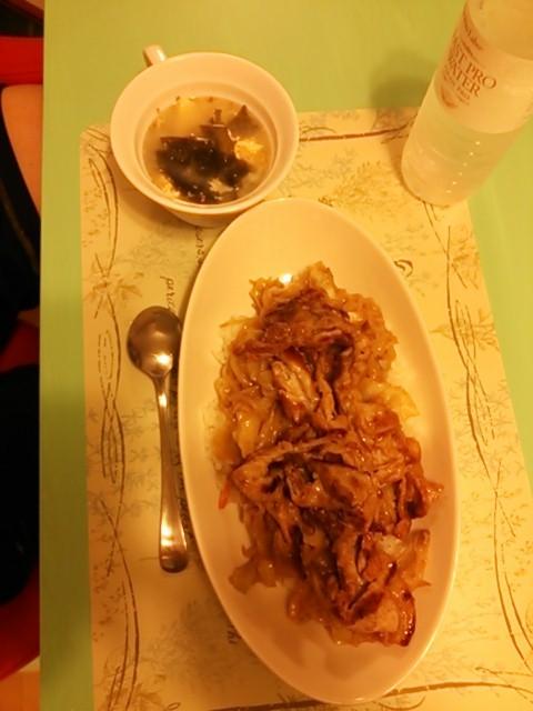 鶏ガラ塩糀の簡単スープ