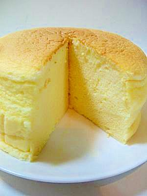 経済的!スライスチーズでふわふわ★スフレチーズ レシピ・作り方