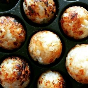 たこ焼き器で焼おにぎり レシピ・作り方 by gacchan-1|楽天レシピ