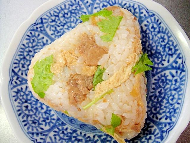 静岡県★マグロ生姜煮の混ぜおにぎり