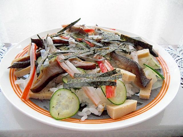 高野豆腐のちらし寿司