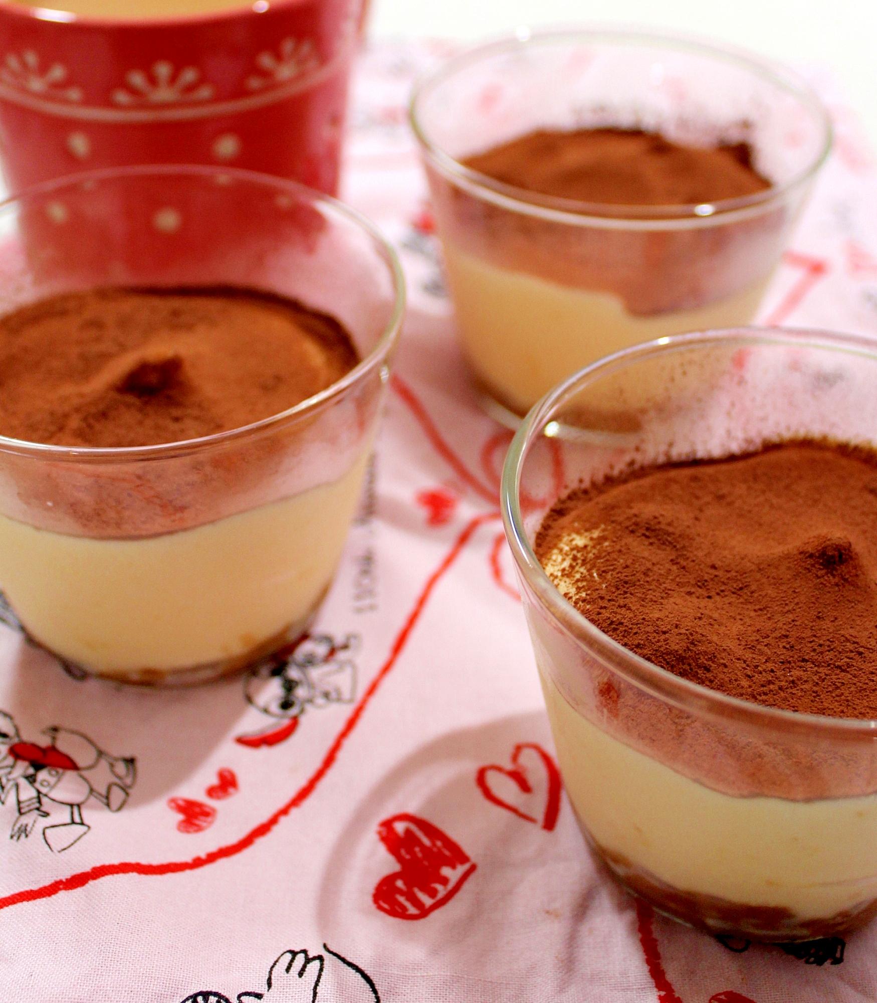 【糖質制限】低カロリー♪絹豆腐で簡単ティラミス風