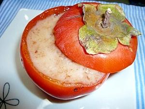 柿のプルプルデザート