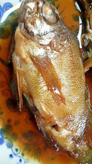 旨みたっぷり甘口☆魚の煮付け