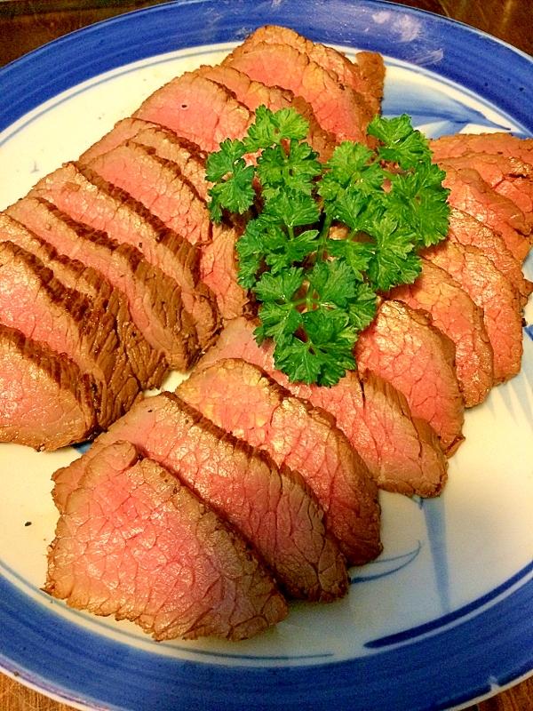 安いお肉で☆ローストビーフ