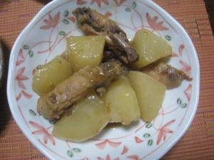 大根と鶏のジャム煮