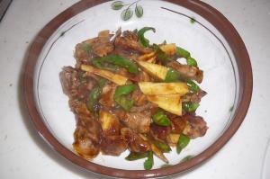 筍の季節です♪豚肉と炒めました