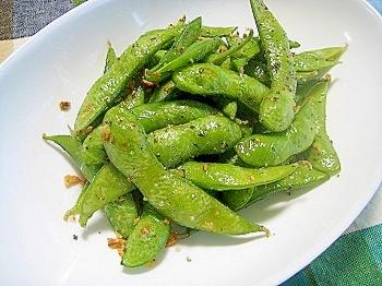 2. 枝豆ペペロンチーノ