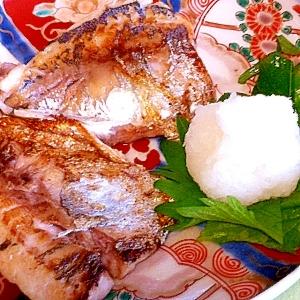 フライパン&ホイルで後片付け簡単★あじの塩焼き
