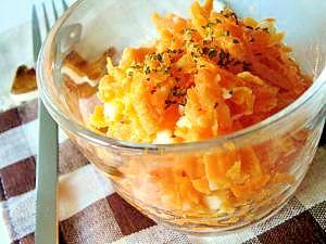 混ぜるだけ*にんじんとゆでたまごのサラダ レシピ・作り方 by wanaka_tekapo|楽天レシピ