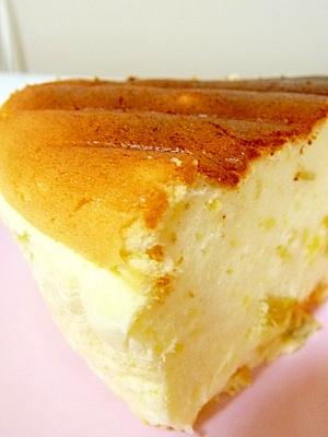 ヨーグルトでさつまいもスフレケーキ レシピ・作り方