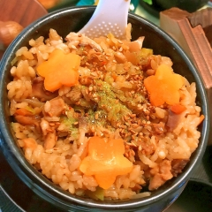 名古屋コーチンの八丁味噌炊き込みご飯