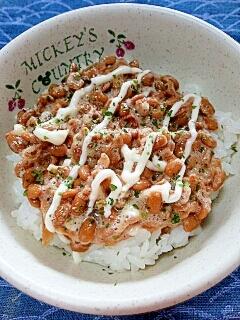 納豆の食べ方-切干大根&マヨネーズ♪
