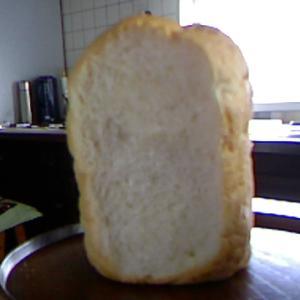 ホームベーカリーで強力粉に米粉の食パン