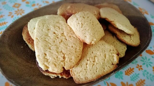 4. 豆乳きな粉のクッキー