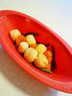 簡単お弁当にサトイモの煮っ転がし