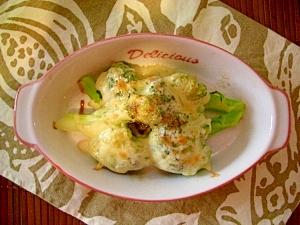 ブロッコリーdeチーズマヨ焼