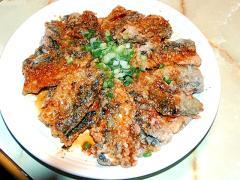 秋刀魚を揚げ焼きで!秋刀魚のユーリンチイ風♪