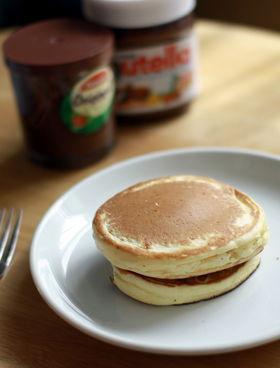 1. カフェ風♩簡単ホットケーキ