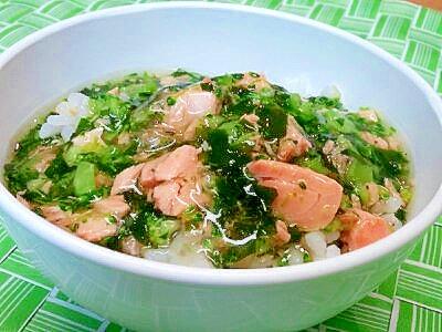 【離乳食】サーモン&ブロッコリーのあんかけ丼