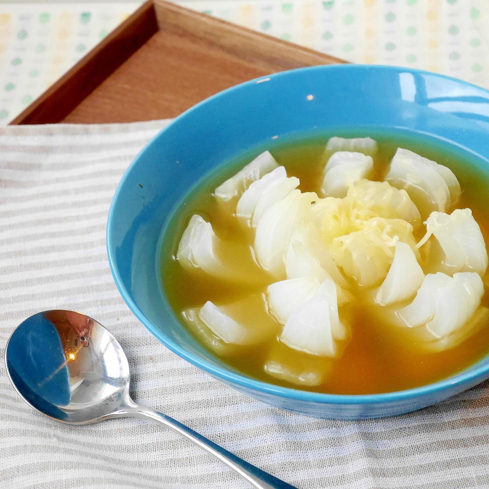 花咲くオニオンスープ
