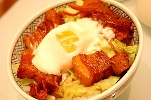 ガッツリ美味しい豚の角煮丼