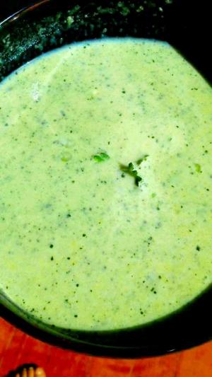青菜のタマネギポタージュ
