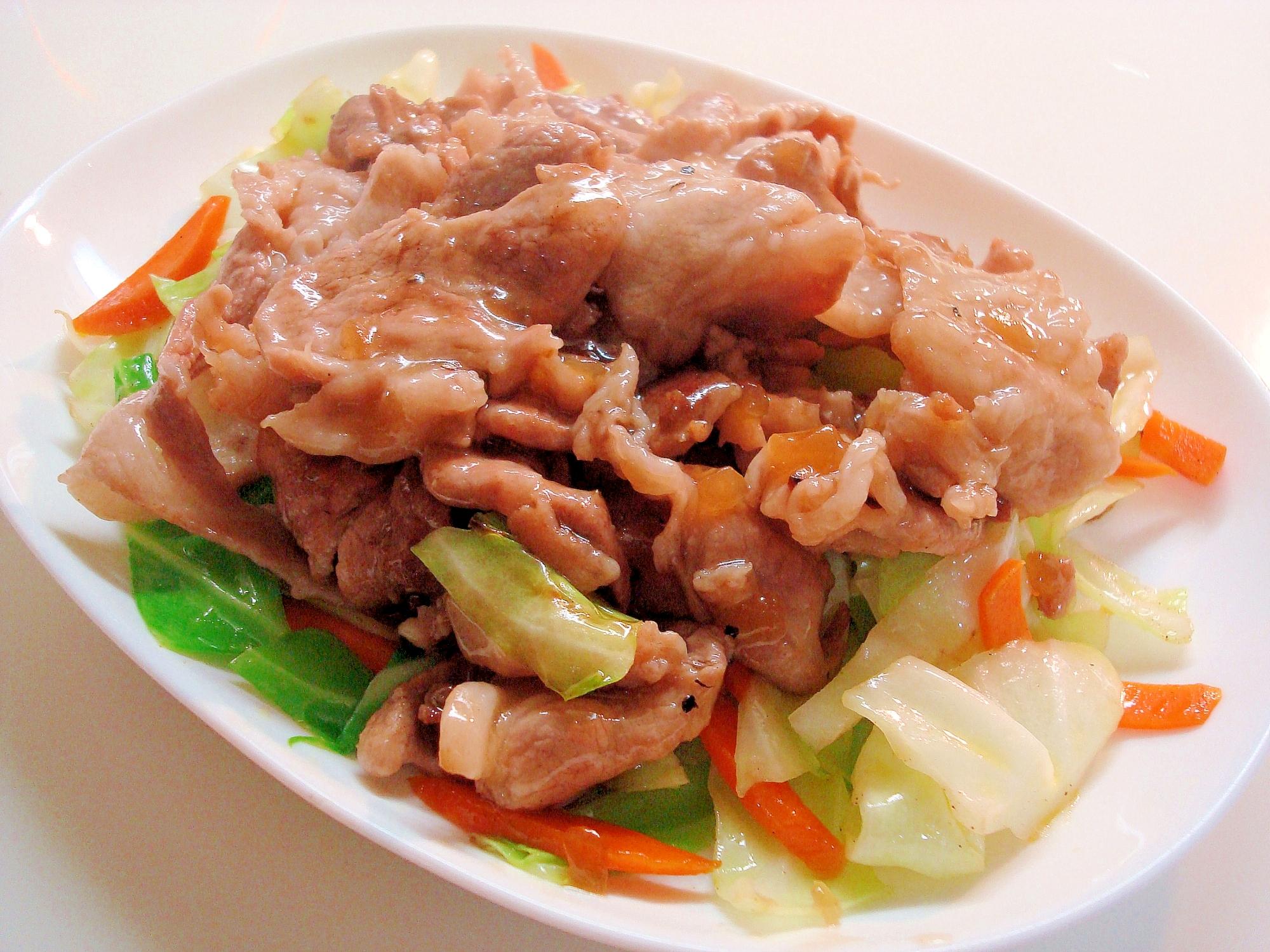 和風しょう油味★豚肉のオニオンソース~♪