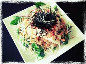 豆腐明太サラダ