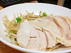炊飯器で超簡単!やわらか茹で鶏