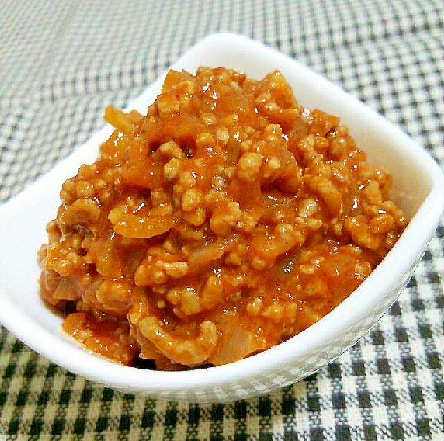 3. トマトジュースで作るミートソース