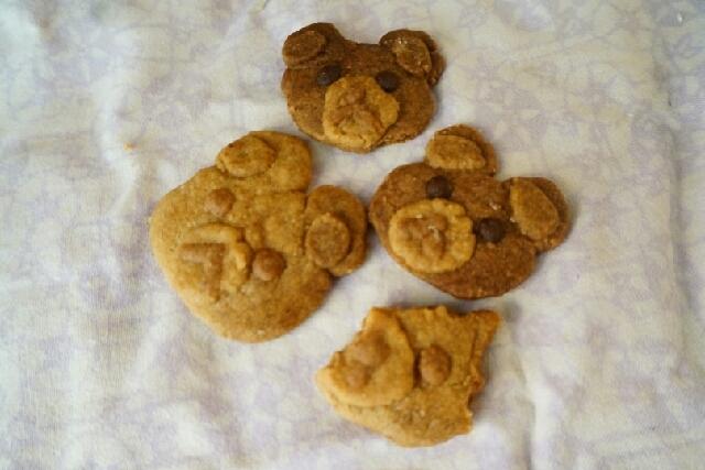 ホワイトデーに☆くまさんクッキー
