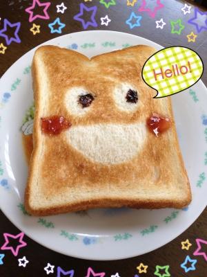 【ホイルだけ!】超簡単&かわいいデコトースト☆