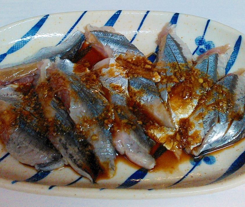 秋刀魚のお刺身★もっとおいしくなるレシピ