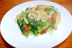 お野菜たっぷり食べれるチャンプルー...