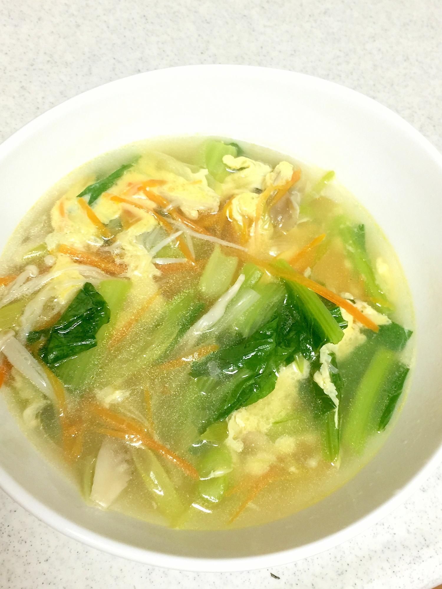3. 中華風スープ