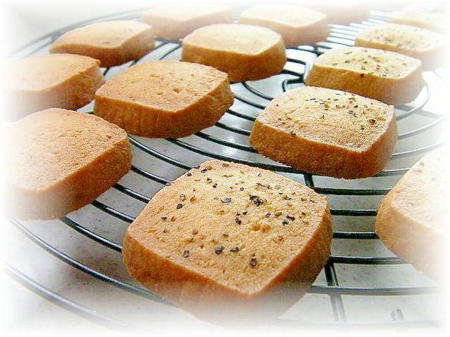 ブラックペッパーチーズクッキー