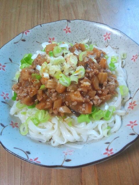 簡単ジャージャー麺