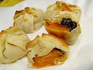 カボチャの優しい甘さが絶品「カボチャパイ」