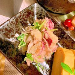 ツナと牛蒡の薩摩芋ポテサラ