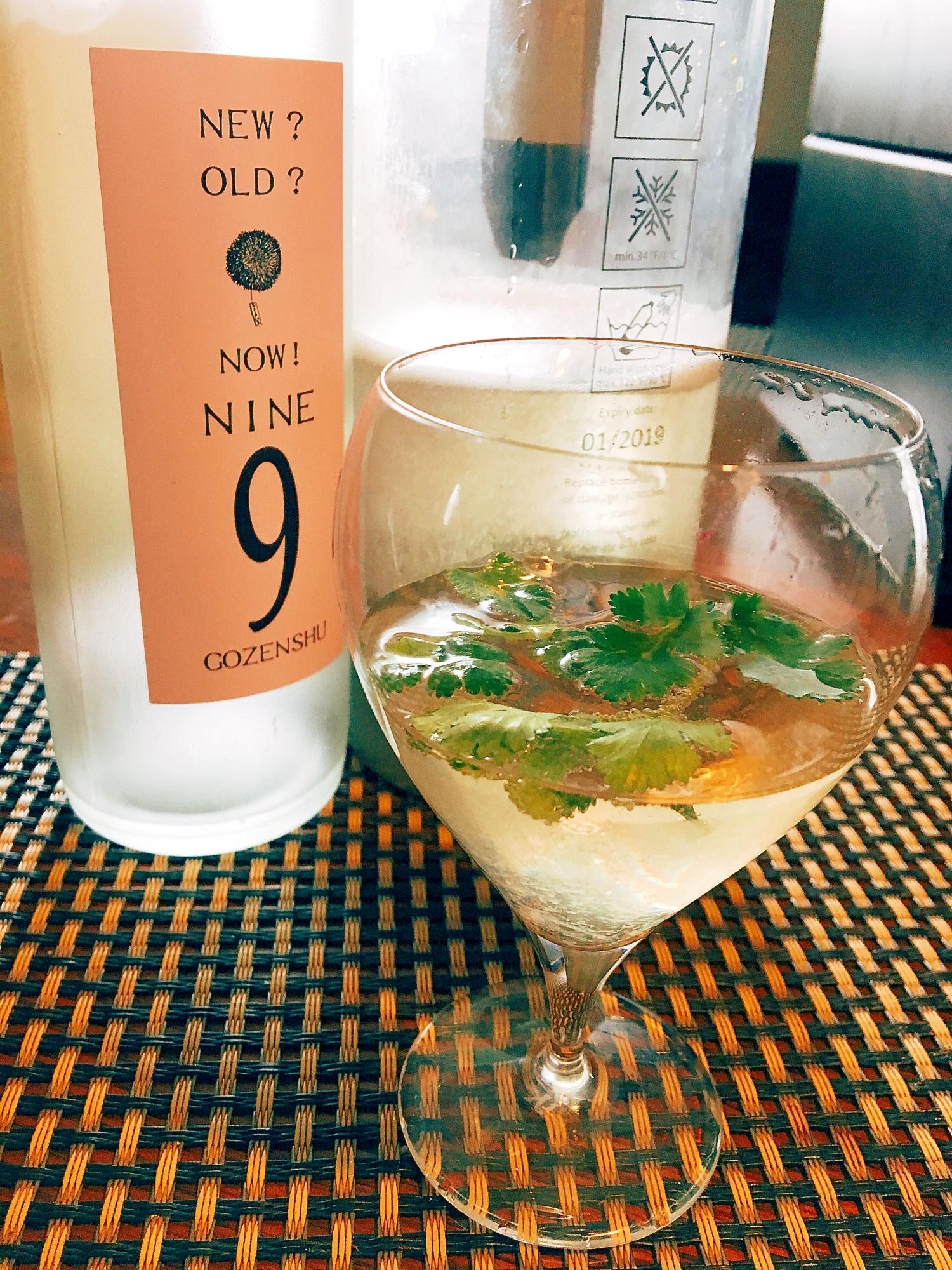 6. パクチー風味の日本酒モヒート