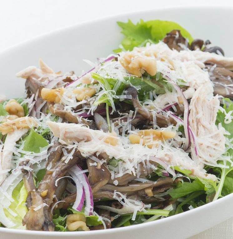 【潔癖家族の副菜Vol.5】きのこのサラダ