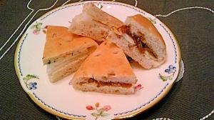 ブルーチズでサンドイッチ