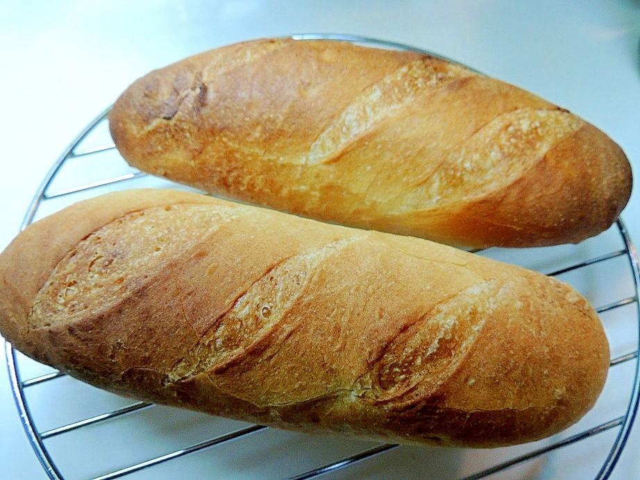 簡単!パリもちっ☆HBでフランスパン(バケット) レシピ・作り方