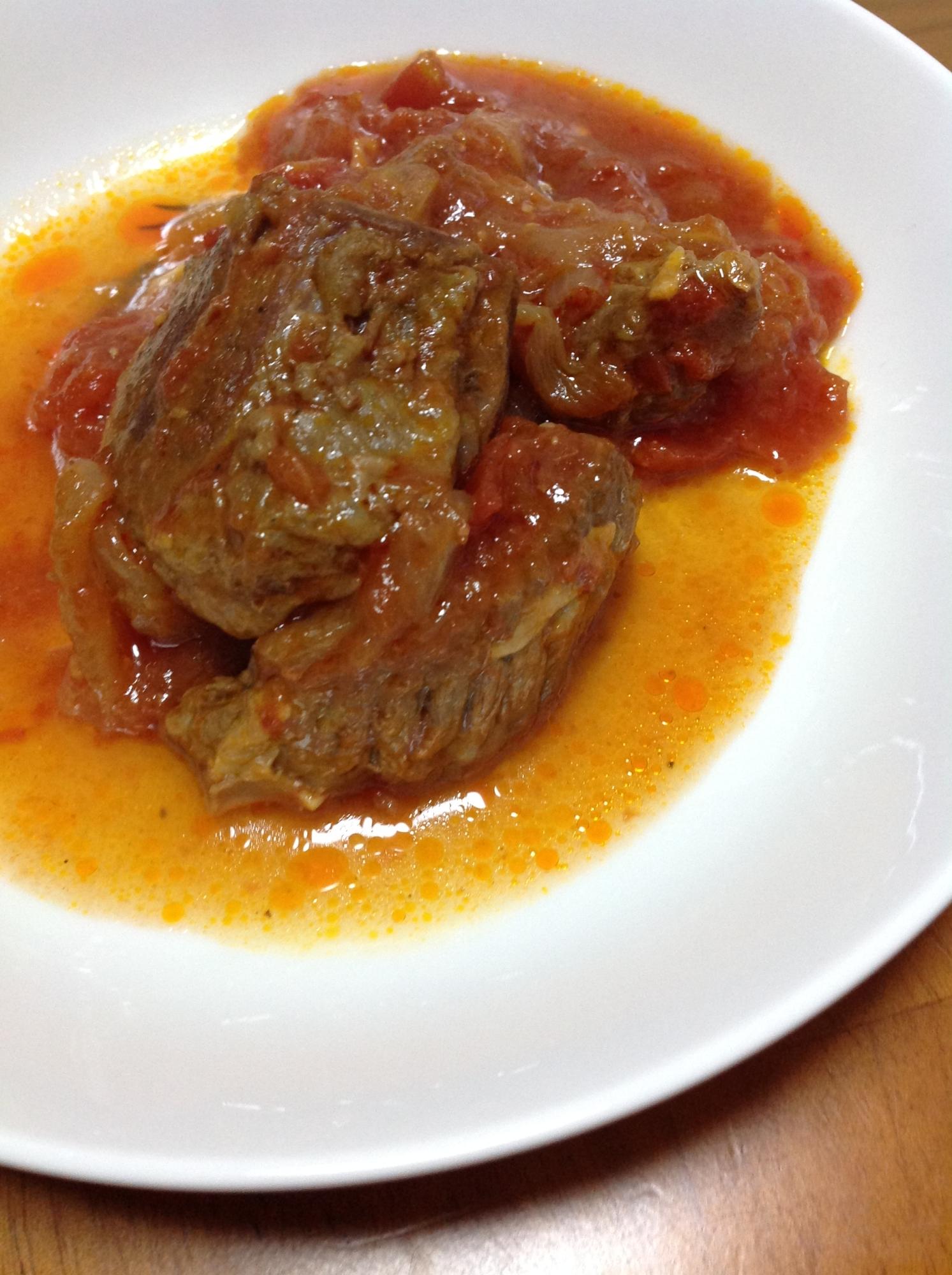 牛肩ローストマト煮込み レシピ・作り方